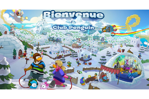 L'Île de Club Penguin on Qwant Games