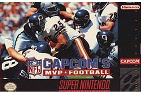 Capcom's MVP Football - Wikipedia