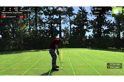 The Golf Club Game, masters clone - YouTube