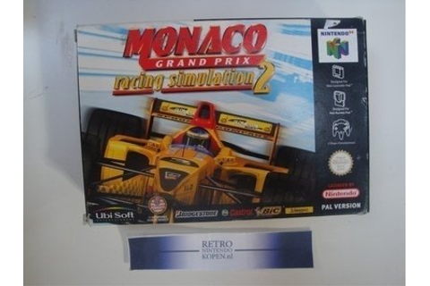 Monaco Grand Prix Racing Simulation 2 (8) - Nintendo 64 ...