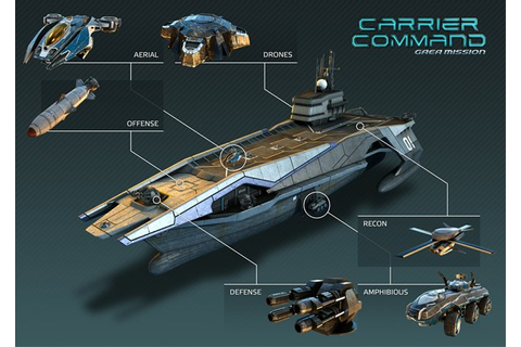 Carrier Command: Gaea Mission By Bohemia Interactive (video)