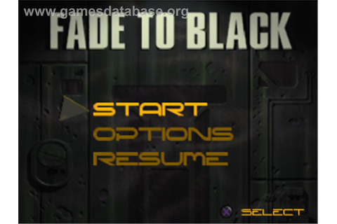 Fade to Black - Sony Playstation - Games Database