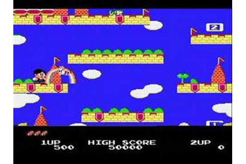 Rainbow Islands - The Story Of Bubble Bobble 2 *NES* - YouTube