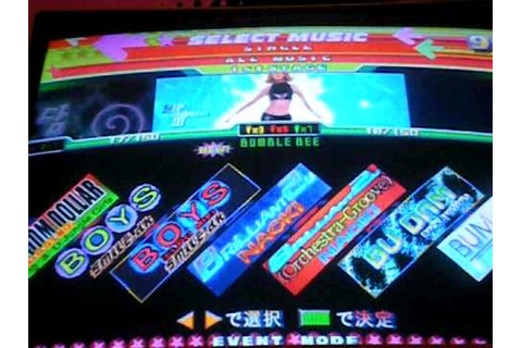 Dance Dance Revolution 4th Mix Plus Arcade Version Song ...