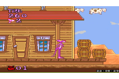 Super Nintendo - Pink Panther Goes to Hollywood - YouTube