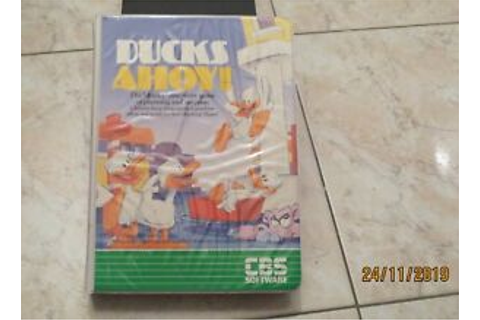 Ducks ahoy! cartridge atari 400 800 800 xl xe computer ...