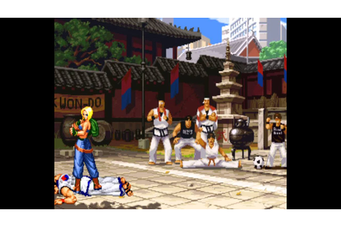 Real Bout Fatal Fury 2: The Newcomers (Arcade) Playthrough ...