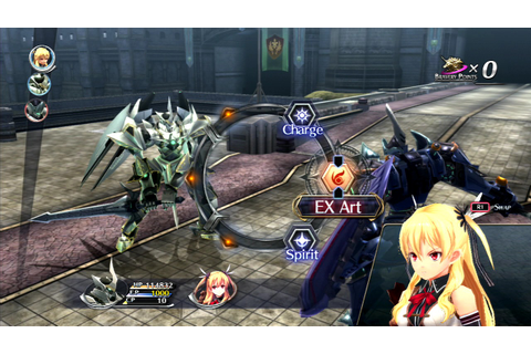 The Legend of Heroes: Trails of Cold Steel II on PS3 ...