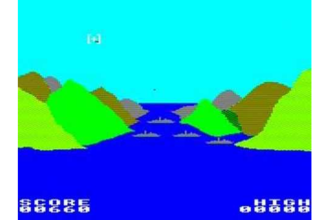 BBC Micro game 3D Bomb Alley - YouTube
