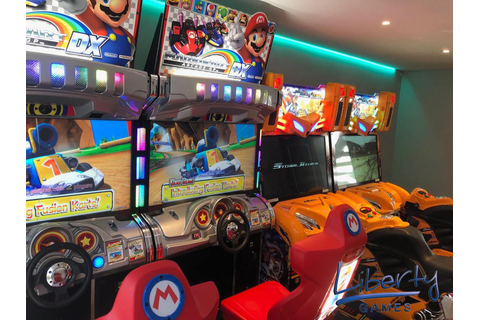 Mario Kart Arcade GP DX | Liberty Games