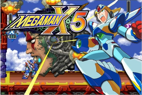 Mega Man X5 PS1 ISO Free Download Pc Games - Space X Zone