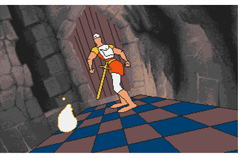 Download Dragon's Lair - Escape from Singes Castle | Abandonia