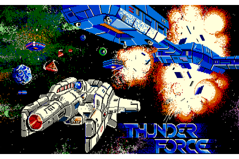 Download Thunder Force (PC-88) - My Abandonware
