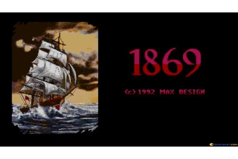 1869 gameplay (PC Game, 1992) - YouTube