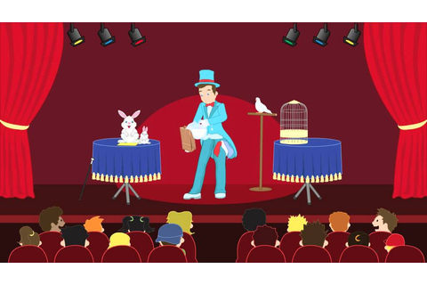 Magic show - Animation Game - YouTube
