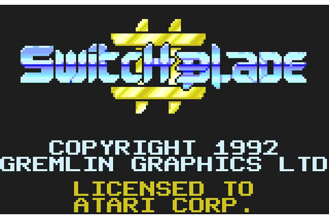 Play Switchblade II Atari Lynx online | Play retro games ...