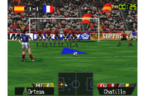 International Superstar Soccer 64 (1997) by Konami OSA N64 ...