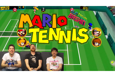 Mario Tennis [N64] - YouTube