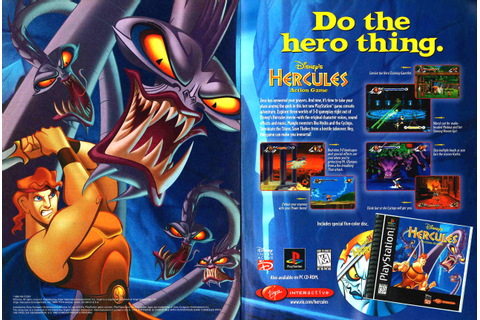 Disney's Hercules - Action Game PSX cover