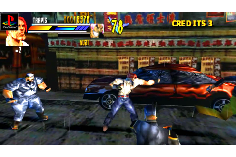 Gekido: Urban Fighters - Gameplay PSX / PS1 / PS One / HD ...