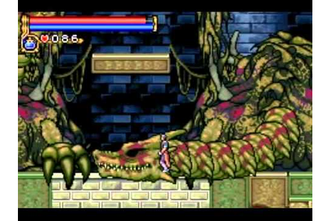 Castlevania - Circle of the Moon - GBA - Boss Rush - YouTube