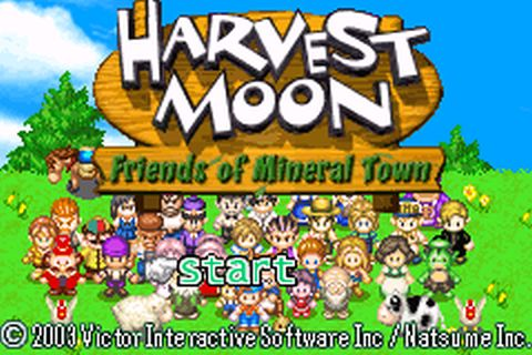 Harvest Moon - Friends of Mineral Town (E)(GBA) ROM