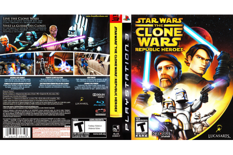 BLUS30394 - Star Wars The Clone Wars: Republic Heroes