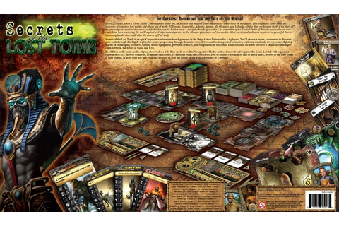 Secrets of the Lost Tomb: The Elite Missions by Everything ...