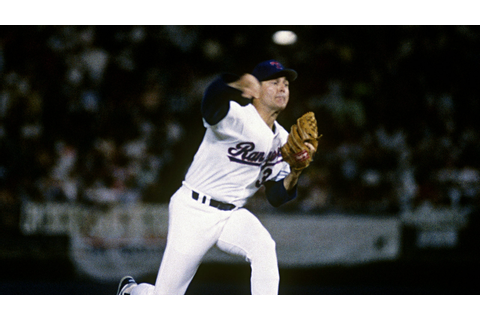Nolan Ryan becomes charter member of 5,000-strikeout club ...