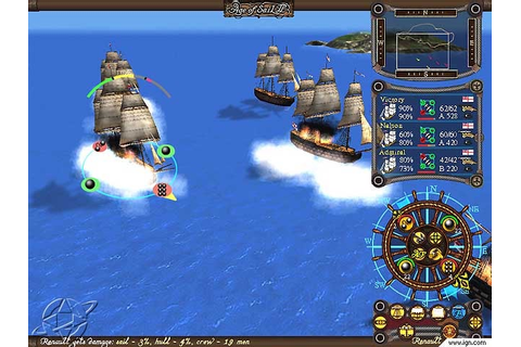 TalonSoft Floats Out Some Screens Of Age Of Sail II - IGN