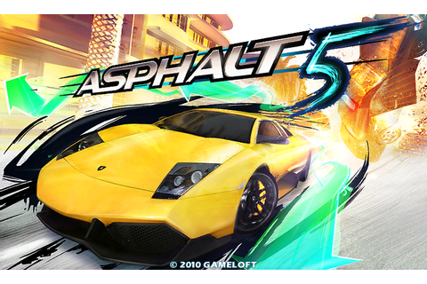 Games for Gio: Asphalt 5 (Download APK+Cache)