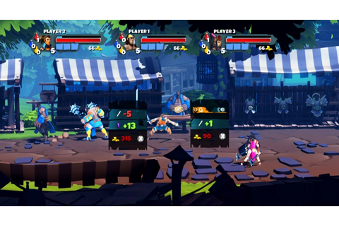 Sacred Citadel maintains its RPG roots in a beat-em-up ...