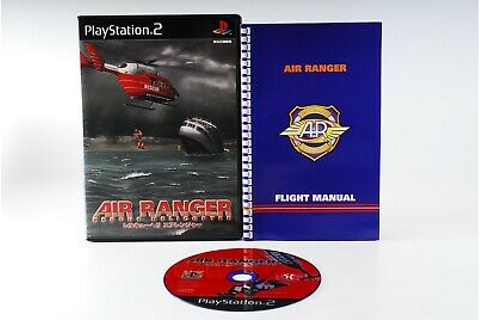 Air Ranger Rescue Helicopter PS2 PlayStation 2 Japan JP ...