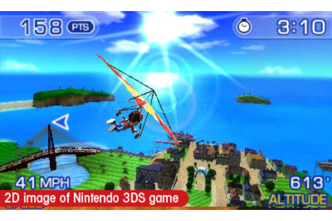 Hands-on with Pilotwings Resort (3DS)