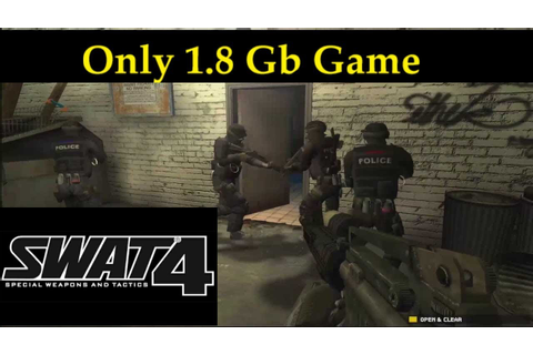 How to Download and Install SWAT 4 GAME FOR PC - YouTube