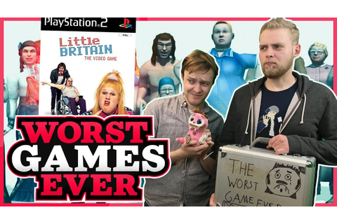 Worst Games Ever - Little Britain: The Video Game - YouTube