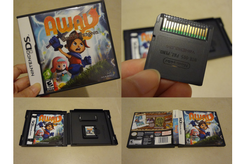 Dance of the Flying Dustbunny: WTS: NDS game - Away ...