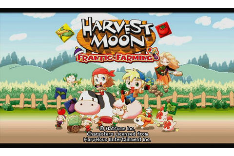 Harvest Moon - Frantic Farming (US) ROM Download for ...