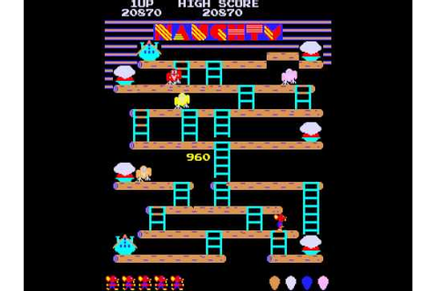 Arcade Game: Naughty Mouse (1981 Amenip (Palcom Queen ...