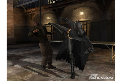 Games: Batman Begins (Xbox version)