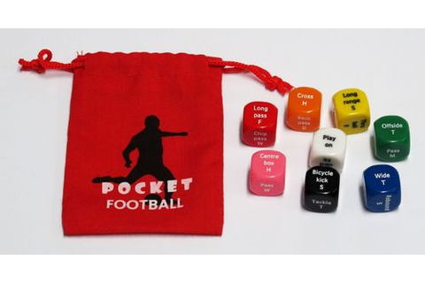 Football/Soccer dice game - looking for feedback ...