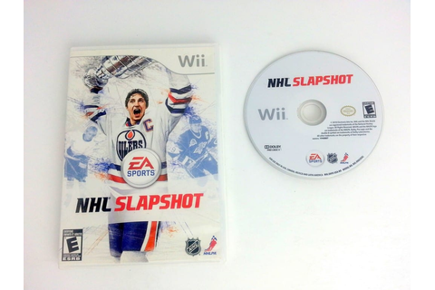 NHL Slapshot game for Wii | The Game Guy