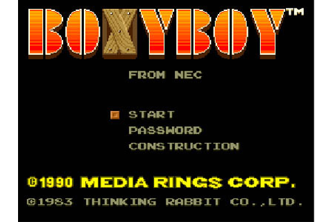 Boxy Boy Review for TurboDuo (1990) - Defunct Games