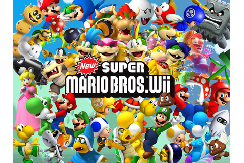 Nintendo&Games: New Super Mario Bros. Wii