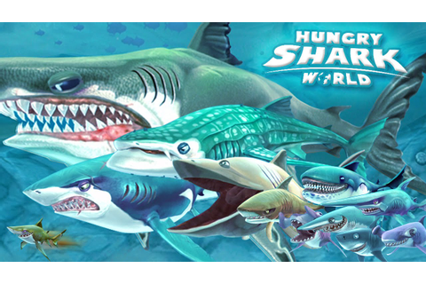ALL SHARKS + TIPS & STRATEGIES - Hungry Shark World ...