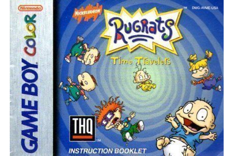 Rugrats - Time Travelers ROM - Gameboy Color (GBC ...