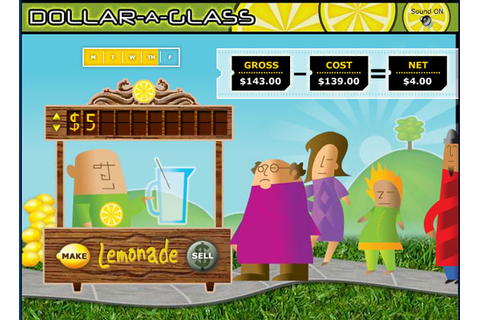 Teach Kids About Economy In The Lemonade Stand Game | Kids ...
