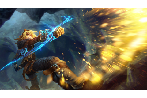 League Of Legends, Video Games, Ezreal Wallpapers HD ...