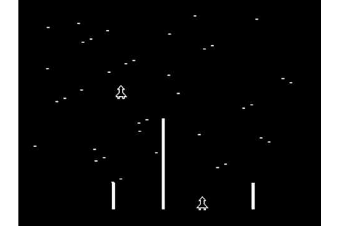 Arcade: Space Race (1973 Atari) [Re-uploaded] - YouTube
