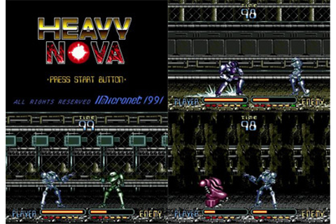 Heavy Nova from Micronet - Mega CD